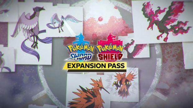 Pokémon legendarios Pokémon Espada y Escudo