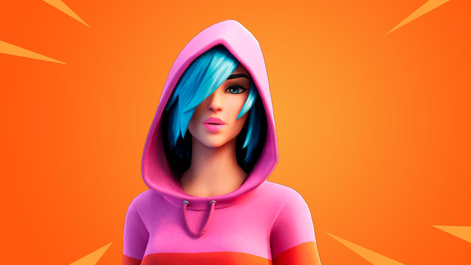 Skin exclusiva Iris de Fortnite