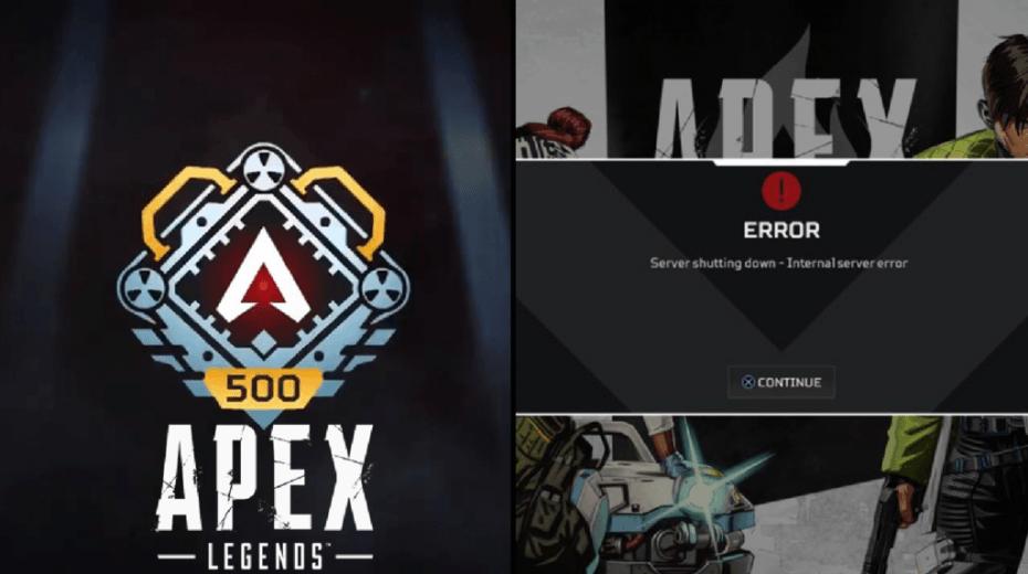 El error del nivel 500 de Apex Legends tendrá solución.