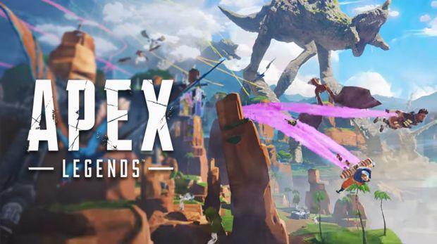 Apex Legends desafío 10000 m paracaidismo.