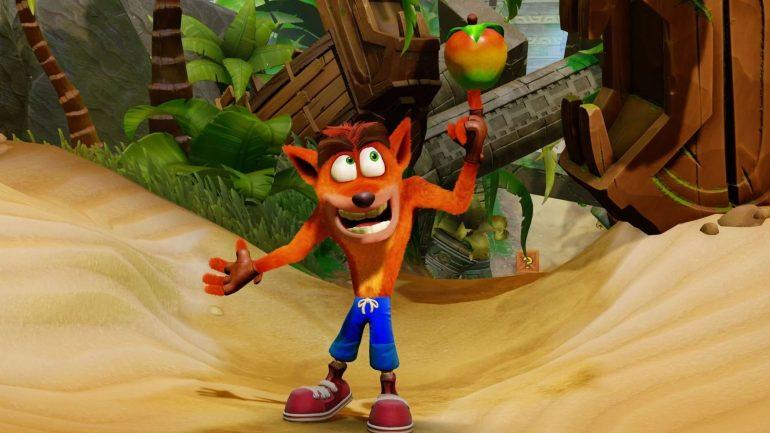 Crash Bandicoot como posible personaje en Super Smash Bros Ultimate