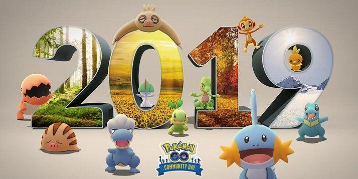 Días de la Comunidad 2019 Pokémon GO