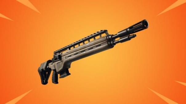 Rifle de infantería Ninja arma Fortnite
