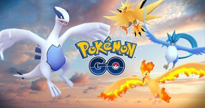 Aves legendarias en Pokémon GO