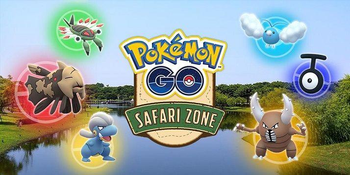 Pokémon de las zonas safari en Pokémon GO