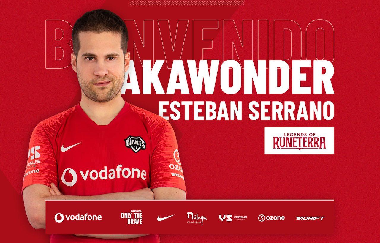 Akawonder llega a Vodafone Giants