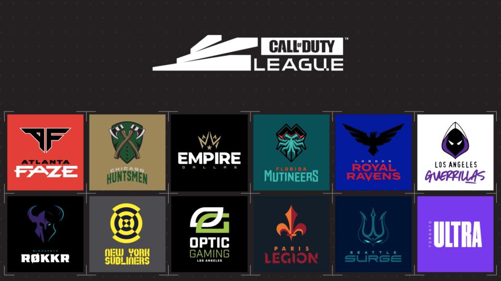 Call of Duty League Resultlados