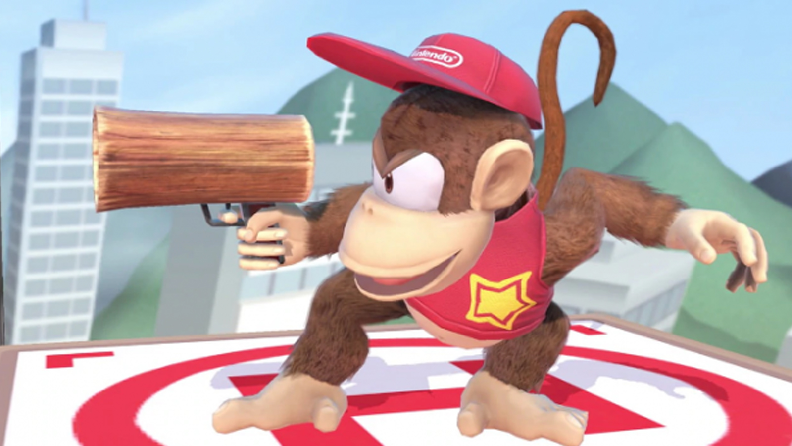 Diddy Kong Smash Bros Ultimate