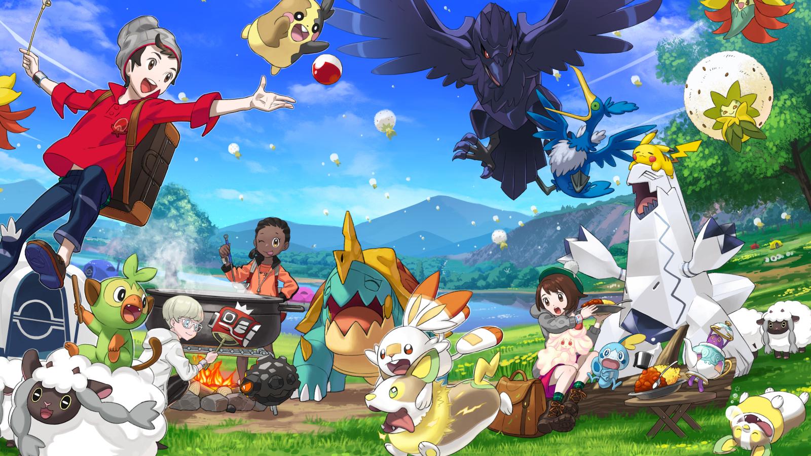 Imagen promocional de Pokémon Espada y Escudo