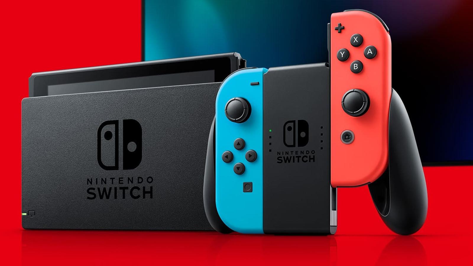 Nintendo Switch con el dock