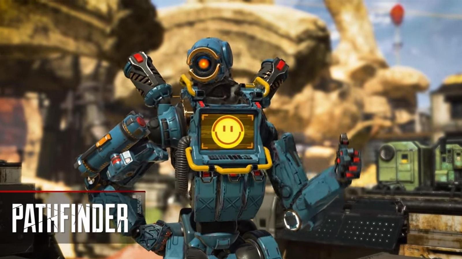 Pathfinder en Apex Legends