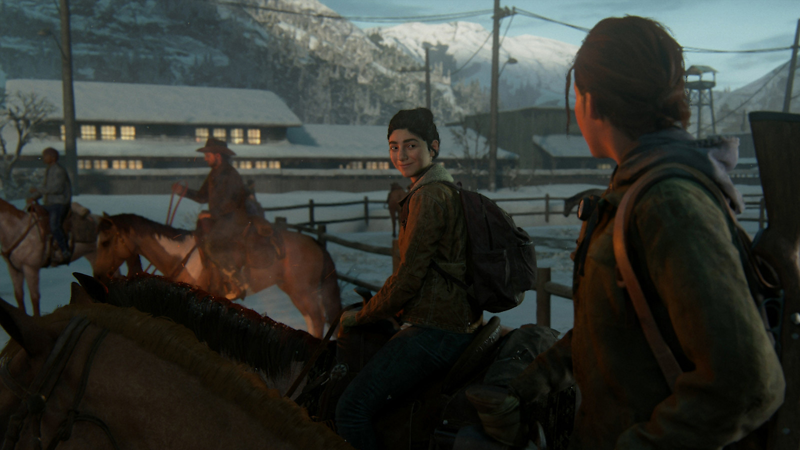 Ellie de The Last of Us 2 a caballo
