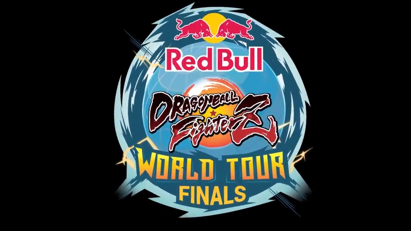 Logo del World Tour de Dragon Ball FighterZ