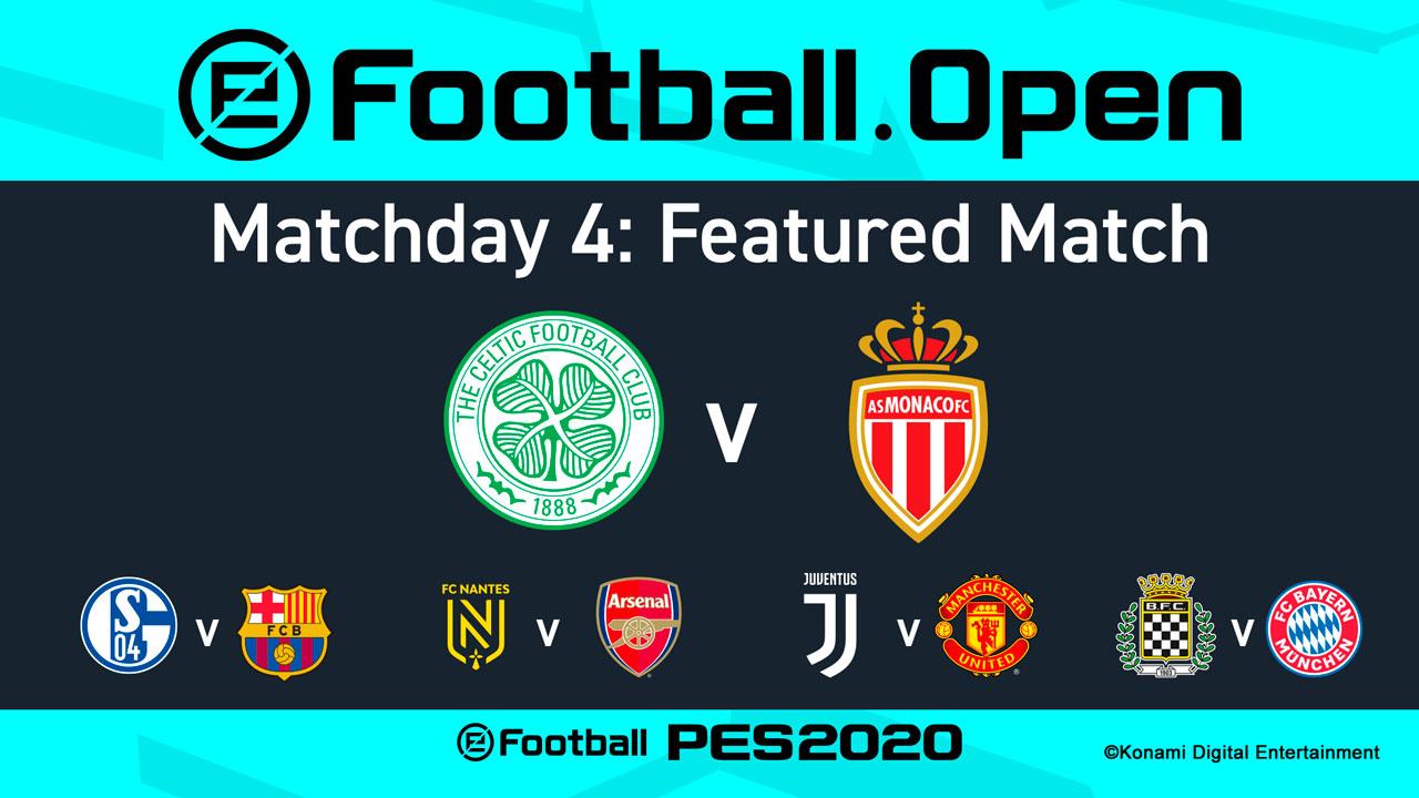 Cuarto matchday eFootball.Pro