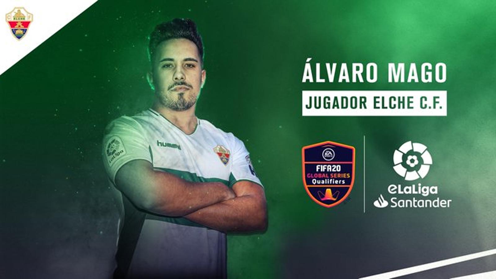 Elche C.F ficha a Álvaro Mago en FIFA 2020