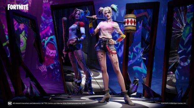 Harley Quinn Fortnite bug