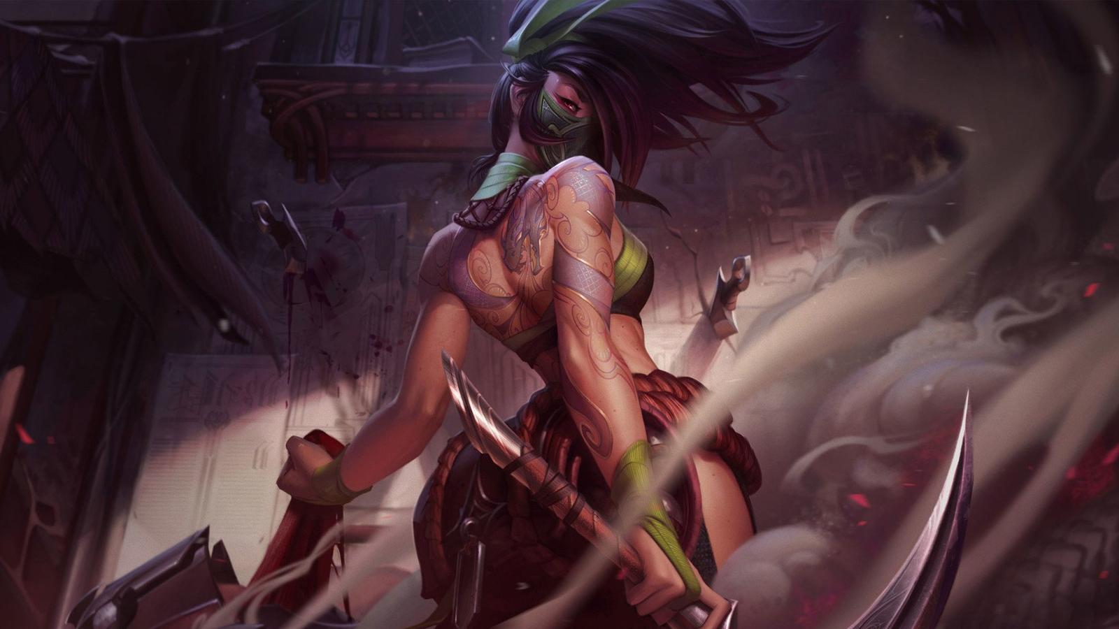 Akali en League of Legends
