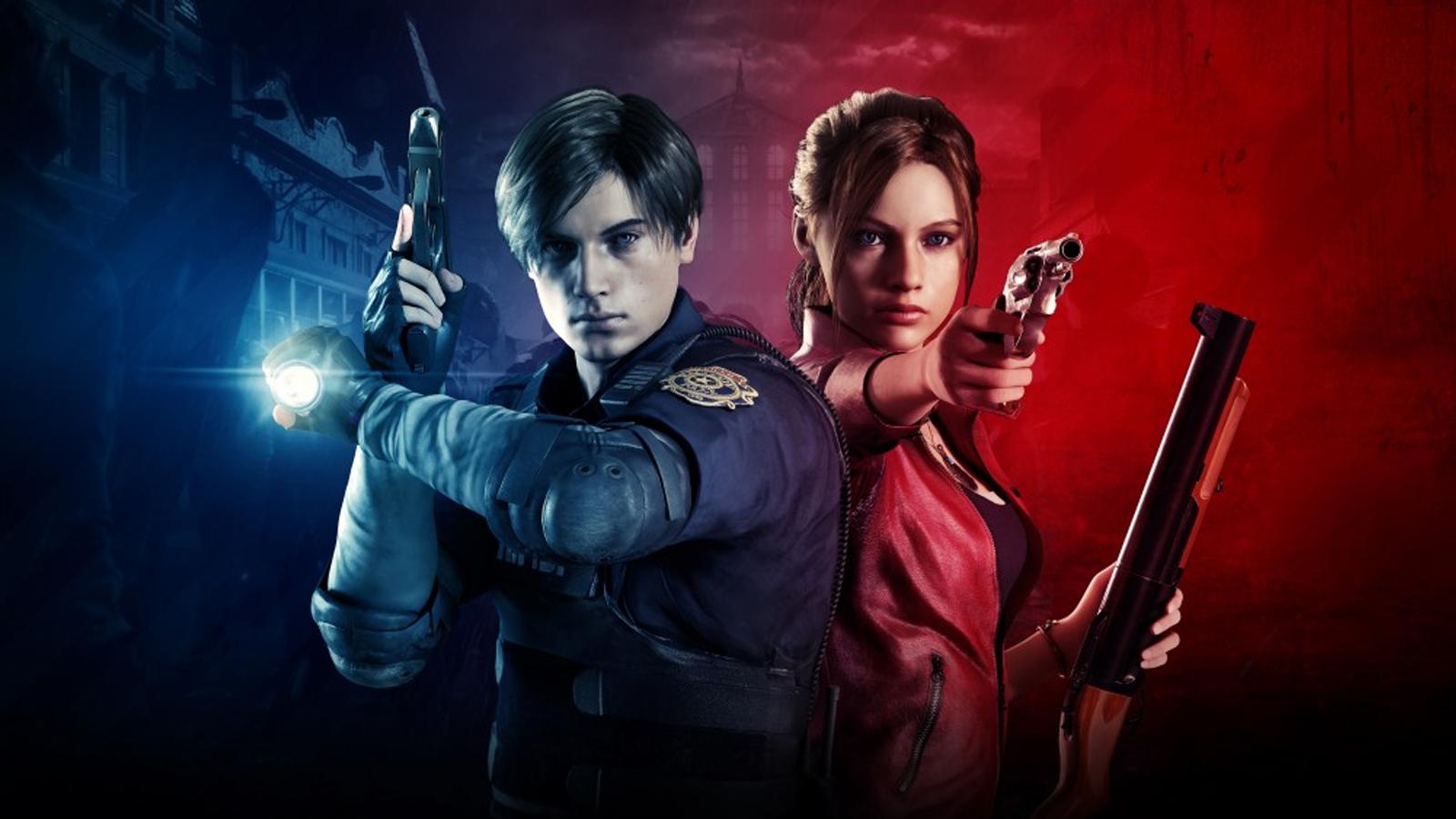 Protagonistas de Resident Evil 2