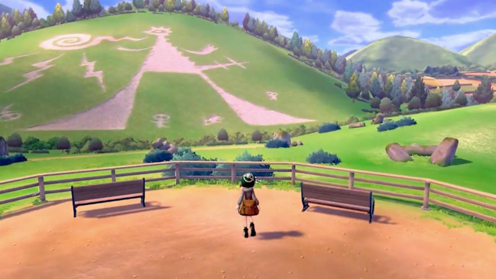 Dibujo misterioso en Pokémon Espada y Escudo