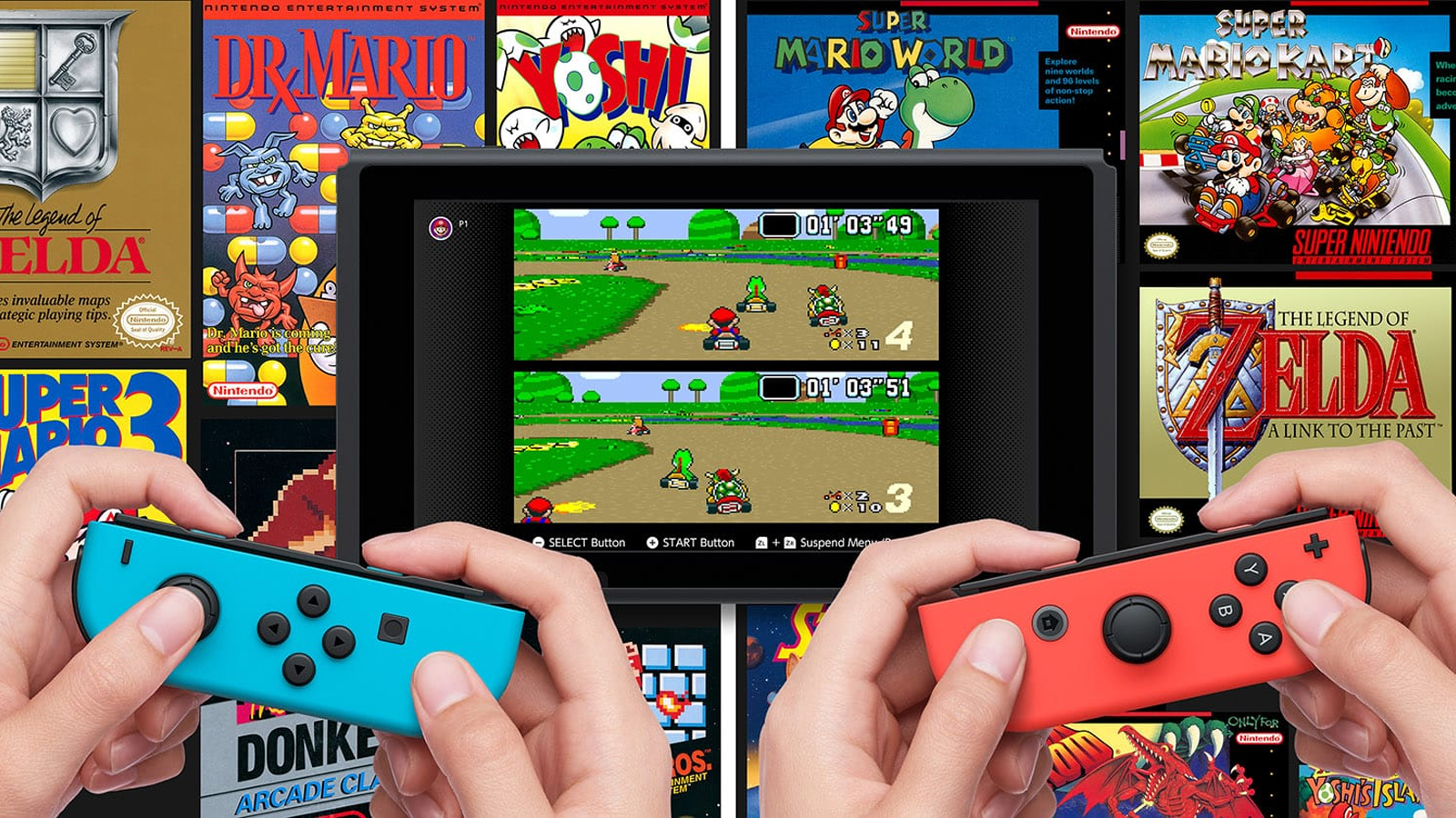 portada nuevos juegos febrero nintendo switch online