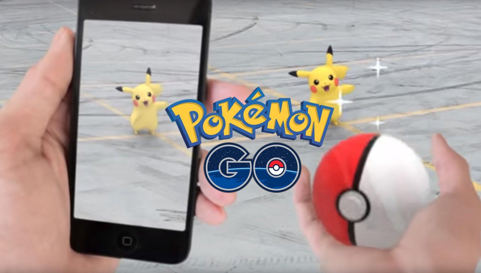 Imagen promocional de Pokémon GO.