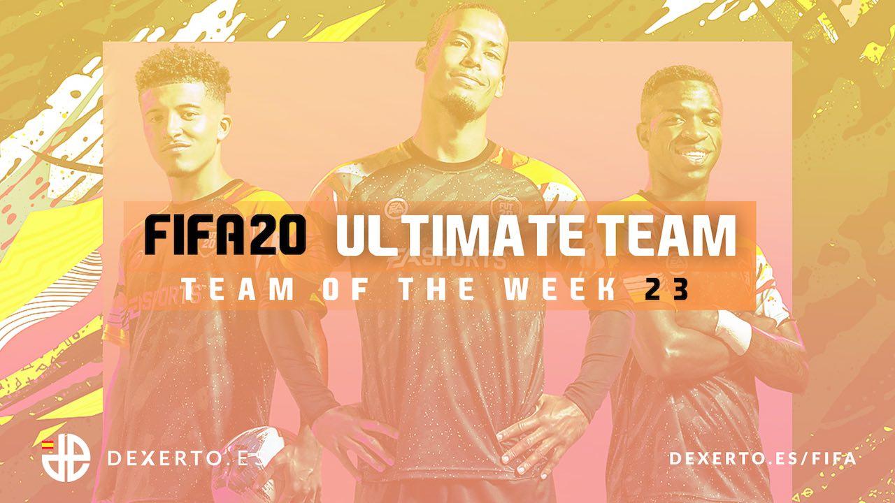 FIFA 20 TOTW 23