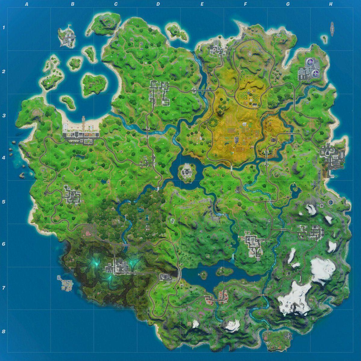 Mapa del Capítulo 2 de la Temporada 2