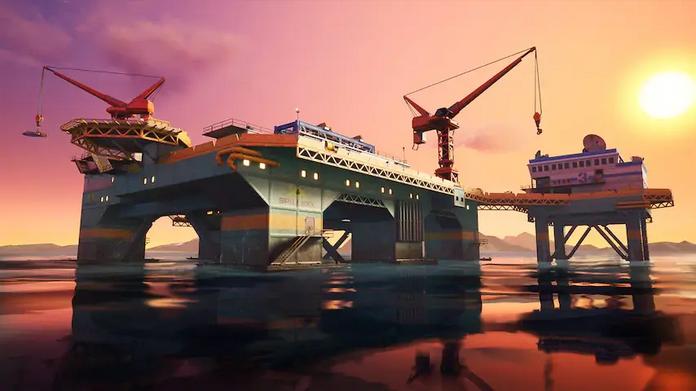 Capítulo 2 Plataforma Petrolífera Fortnite