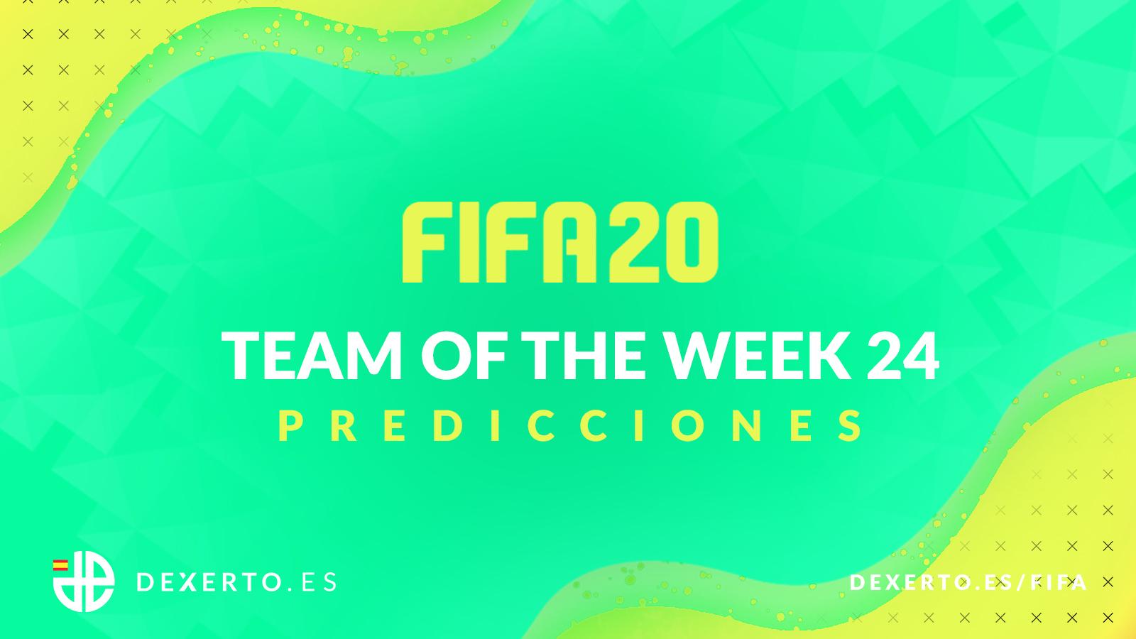 Predicciones TOTW 24 FIFA 20