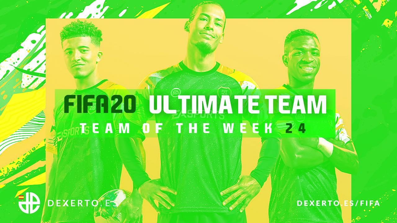 FIFA 20 TOTW 24