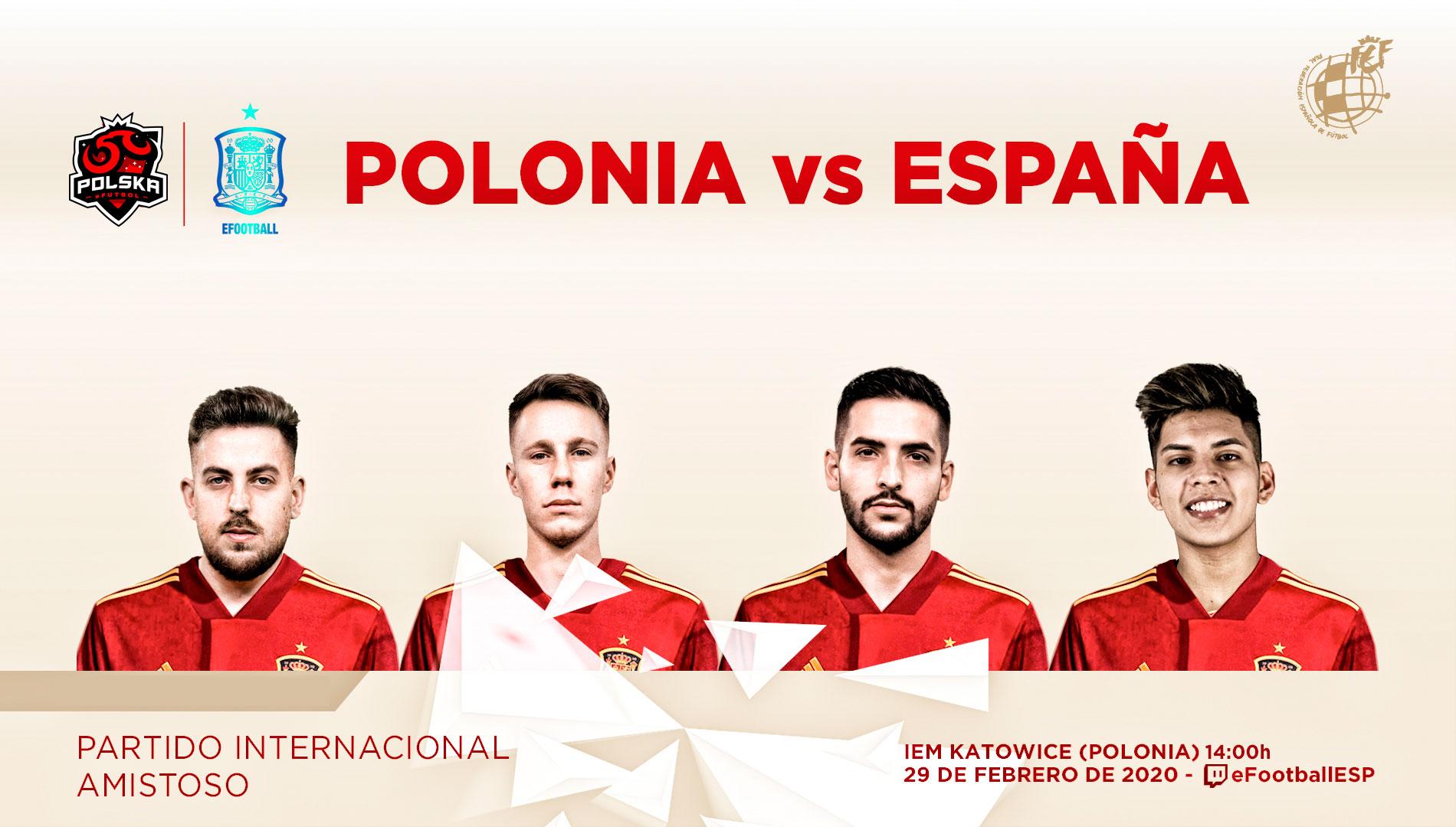 Selección española eFootball PES 2020