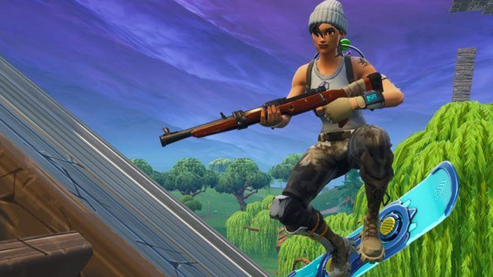 portada rifle legendario fortnite como conseguirlo