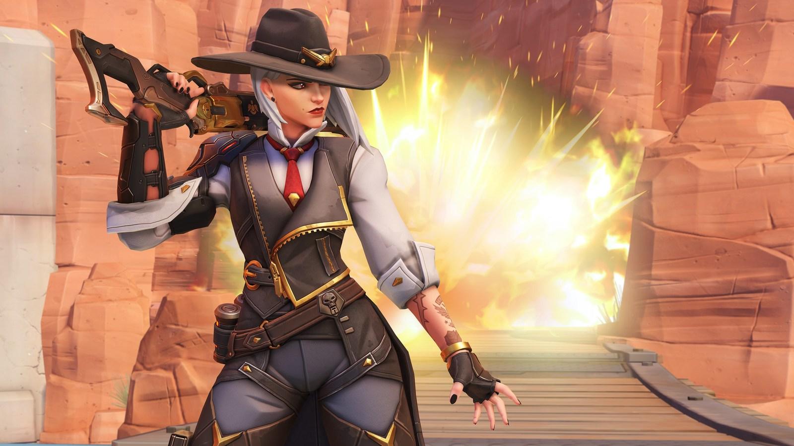 portada problemas skins ashe overwatch
