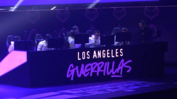 LA Guerrillas quinteto