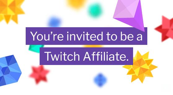 Afiliado Twitch streaming