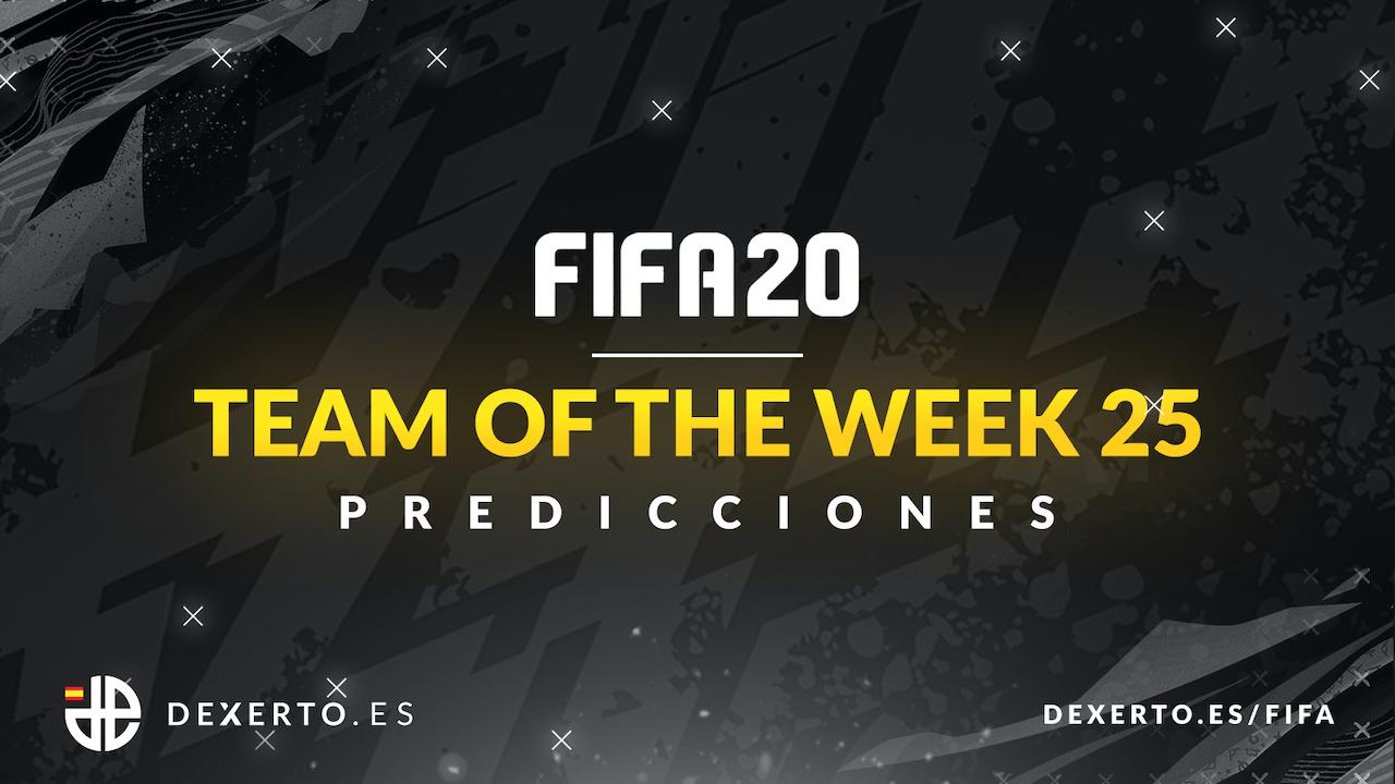 Predicciones FIFA 20 TOTW 25