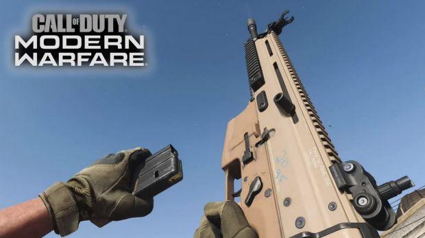 Modern Warfare recargar arma