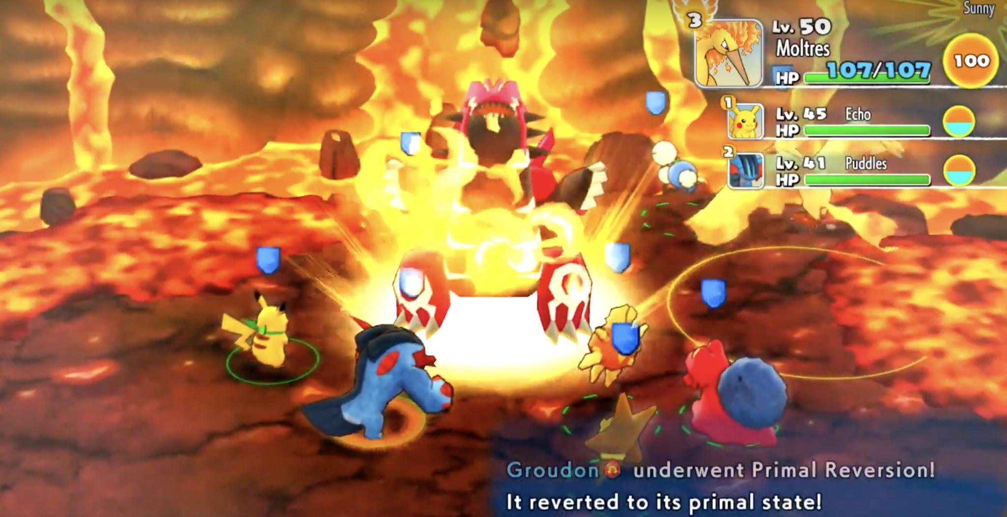 Groudon Pokémon Mundo Misterioso DX
