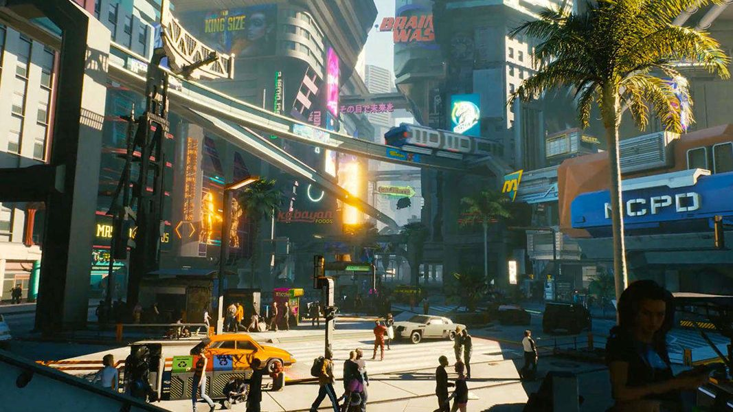 Night City en Cyberpunk 2077