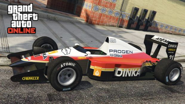 Formula 1 GTA Online