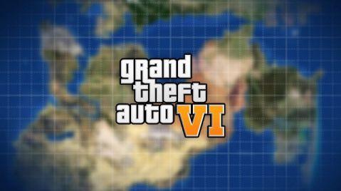 Imagen no oficial de mapa de GTA 6