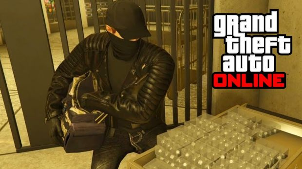 Ladrón en el casino de GTA Online