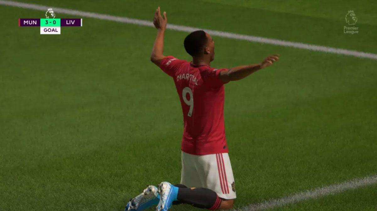 Celebración gol FIFA