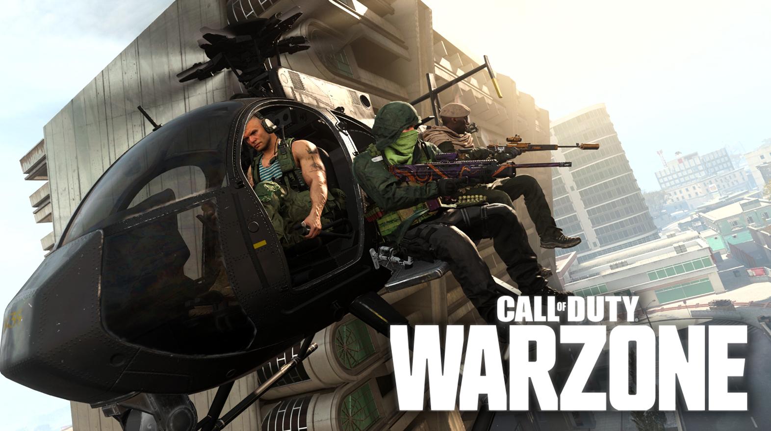 Helicóptero Warzone
