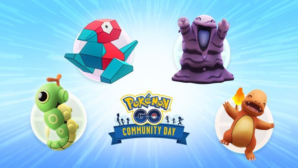 Pokémon elegidos para el día de la comunidad