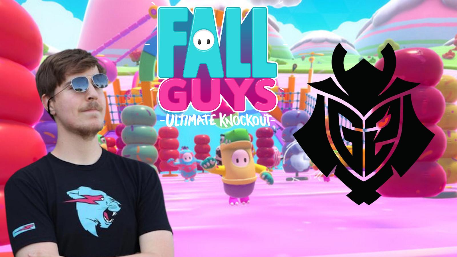 Fall Guys/Mr Beast/G2 Esports