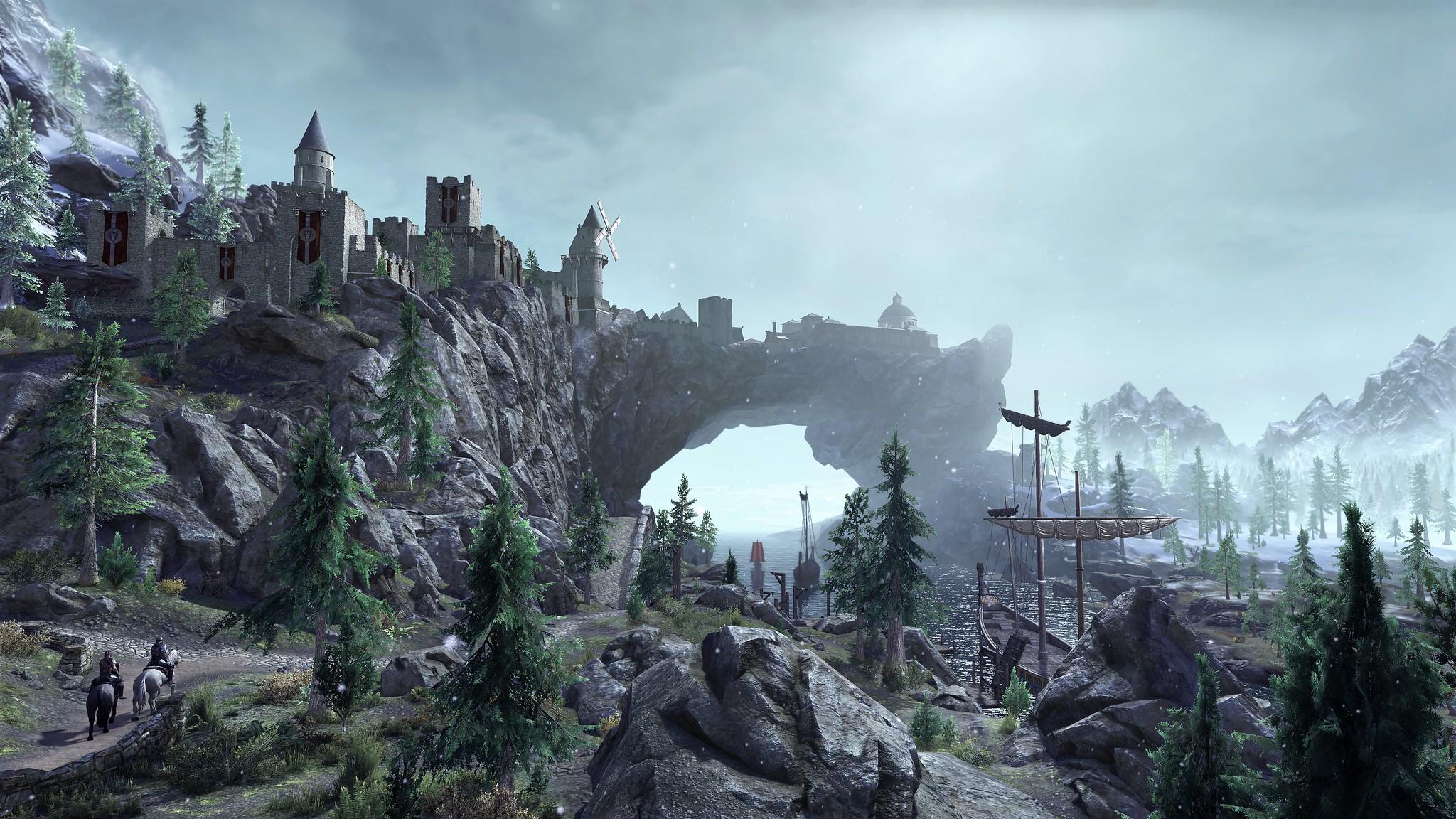 Escenario de TESO en Dark Heart of Skyrim