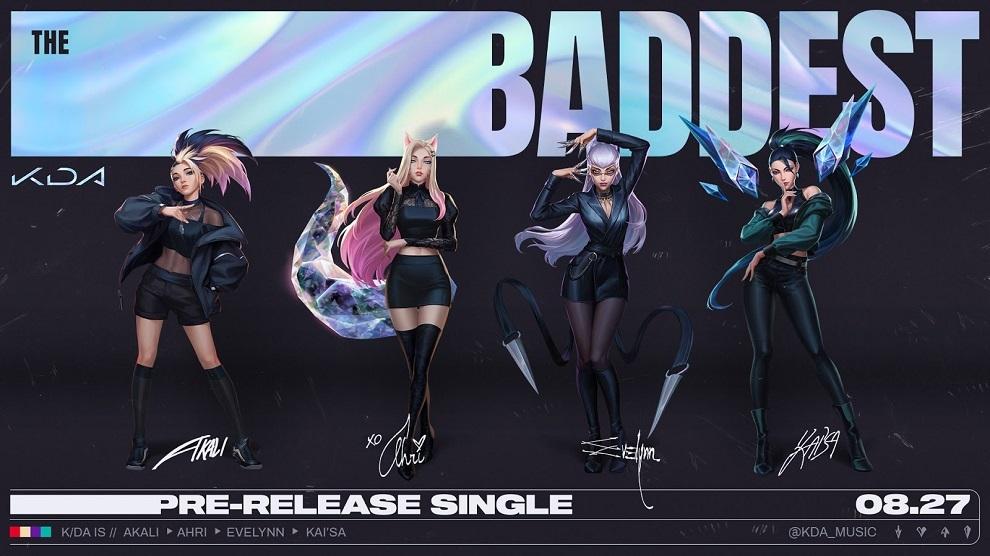 K/DA The Baddest