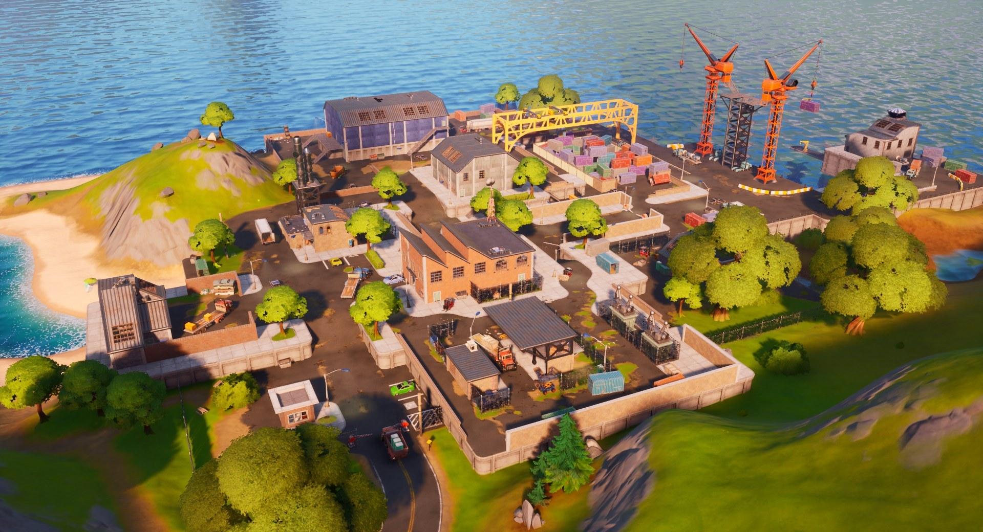 Dirty Docks en Fortnite