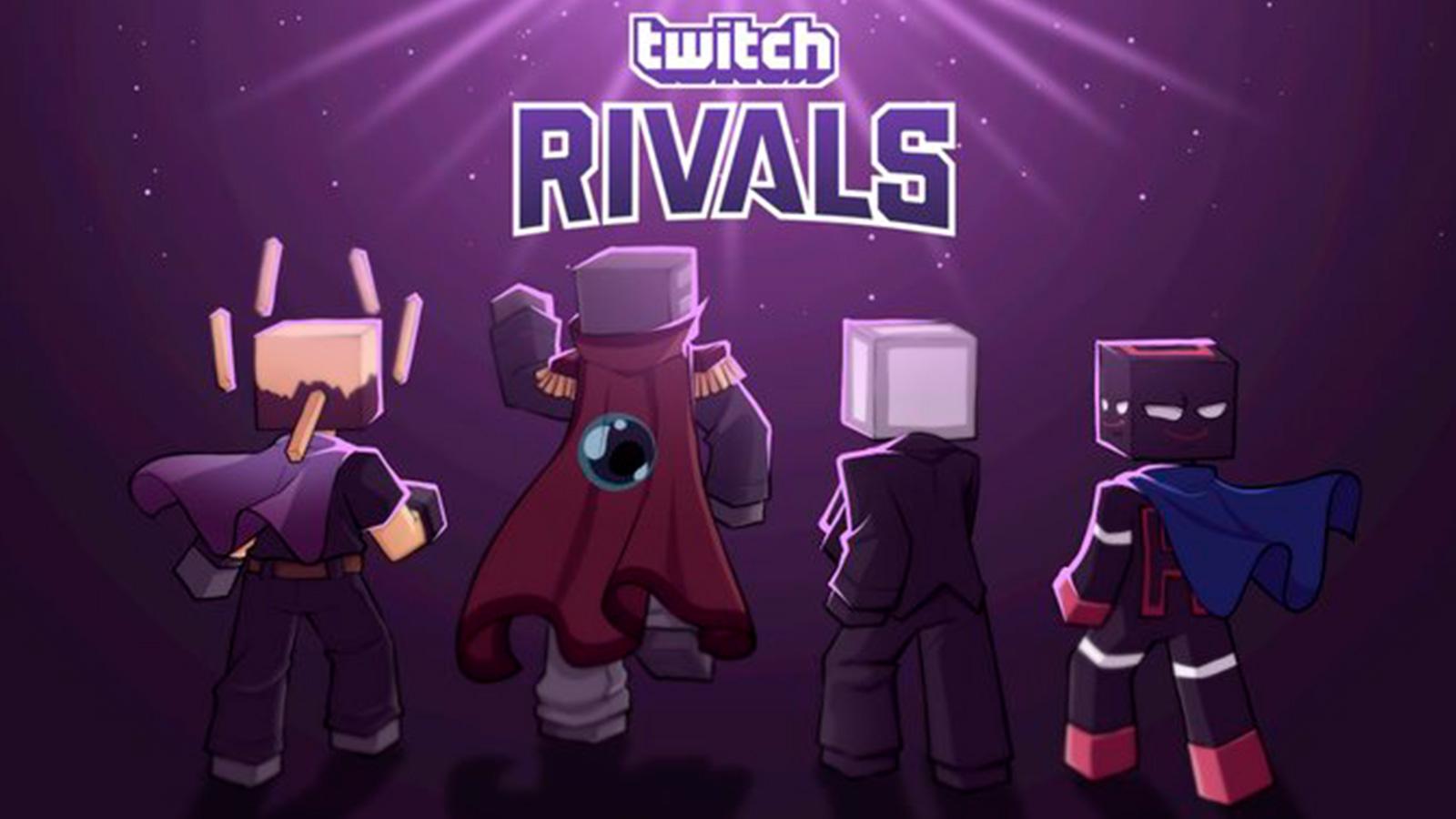 Team Rich Twitch Rivals Minecraft